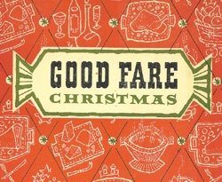 Cover excerpt from Good Fare Christmas brochure