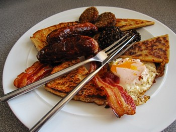 up irish breakfast fry up sunday morning fry up cuts of the shamrock ...