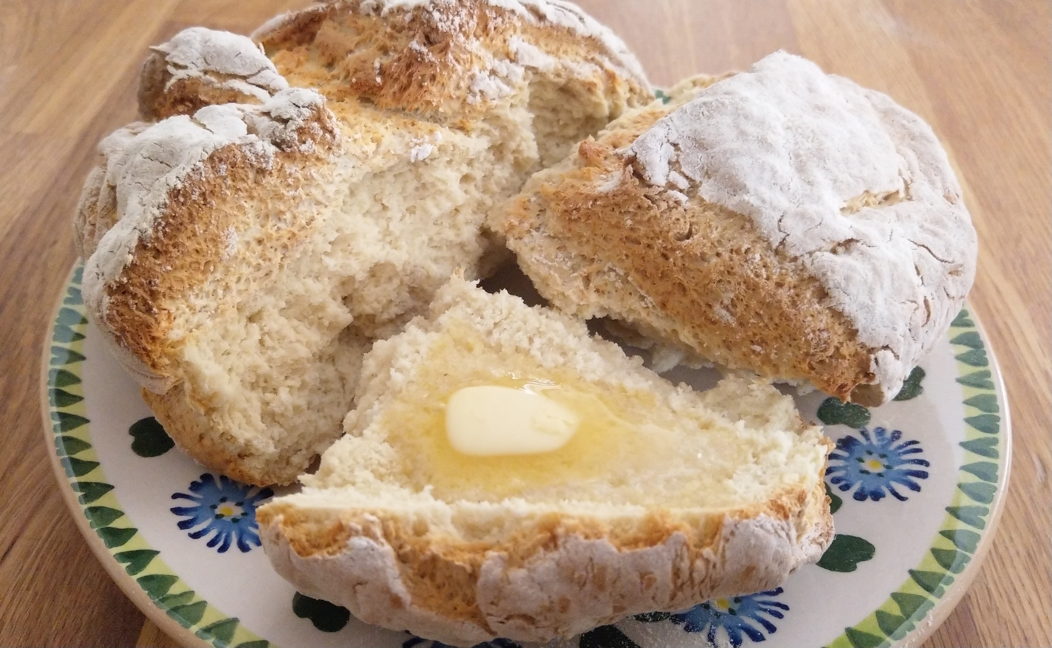 Ireland Traditional Irish Soda Bread Without Buttermilk European Cuisines