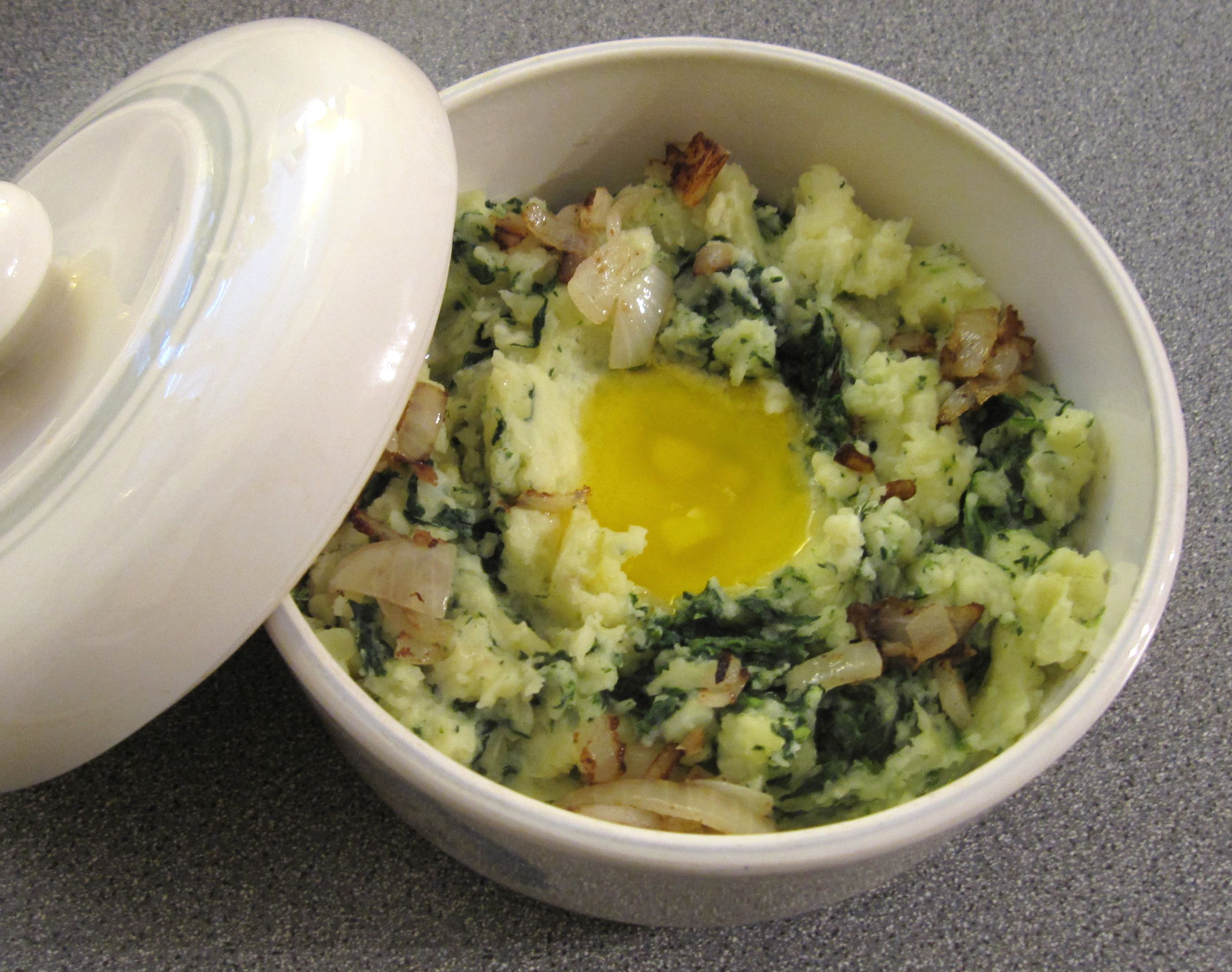 Colcannon: the traditional Irish fireside dish